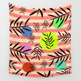 Happy leaf fall Wall Tapestry