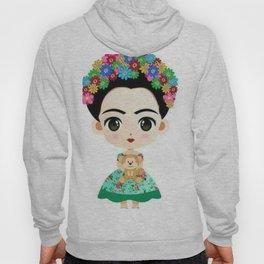 Frida Cartoon Hoody