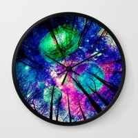 decal Wall Clocks featuring My sky  by haroulita