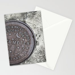 New Orleans Watermeter in Color Stationery Cards