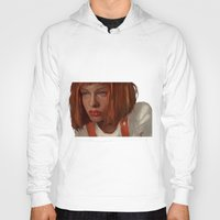 fifth element Hoodies featuring leeloo - the fifth element by salem jones