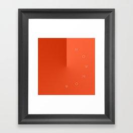 'Now Now' Framed Art Print
