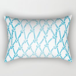 Net Water Rectangular Pillow