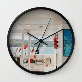 Boat life Wall Clock