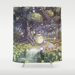 Totor o's Paradise Shower Curtain