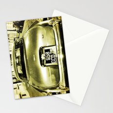 Old Jaguar on the streets of Paris Stationery Cards