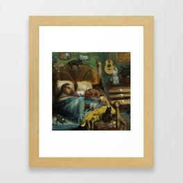 pets Framed Art Print