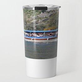 Quintessentially Dalyan: River Boats and Rock Tombs Travel Mug