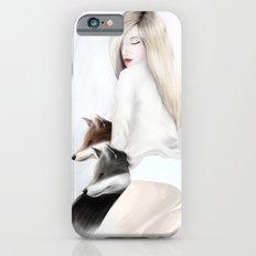 women_fox iPhone 6s Slim Case