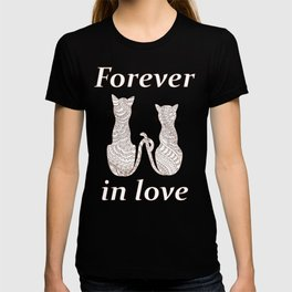 lovely cats T-shirt