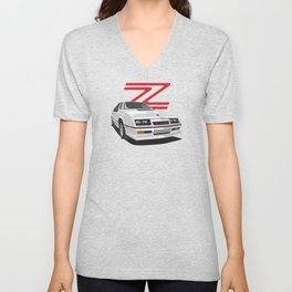 Daytona Turbo Z / CS - White Unisex V-Neck