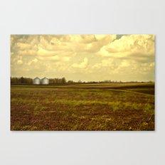 An Open Field Canvas Print