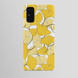 ginkgo leaves (yellow) Android Case