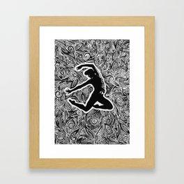 Modern Dance Framed Art Print