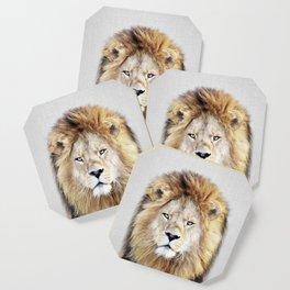 Lion 2 - Colorful Coaster