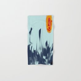 the sea in the waves Hand & Bath Towel