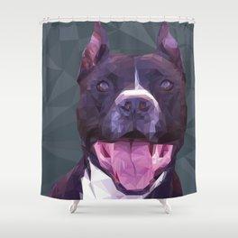 Boss Dog Shower Curtain