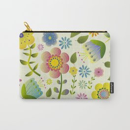 Petty Floral Pattern 2 Carry-All Pouch