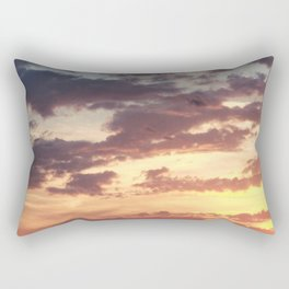 Pastel Summer Sunset Rectangular Pillow