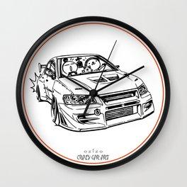 Crazy Car Art 0196 Wall Clock