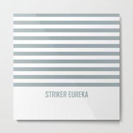 Striker Stripes Metal Print