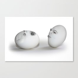 Cracked Egg & a Wink Canvas Print
