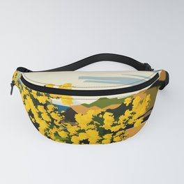 Mimosa in bloom Fanny Pack