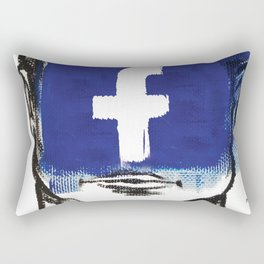 O'Prime facebook Rectangular Pillow