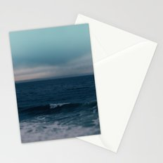 Blue California Ocean Stationery Cards