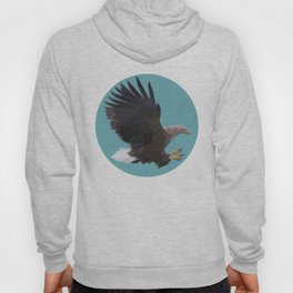 Polygonal Eagle Hoody