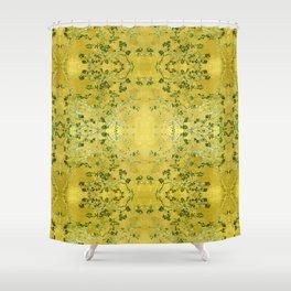 LoVinG V - yellow Shower Curtain