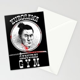 Kurosawa Samurai Gym Stationery Cards