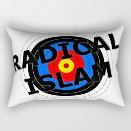 Radical Islam Target Rectangular Pillow