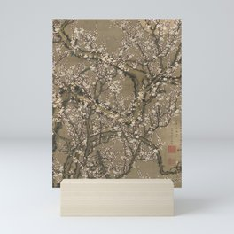 White Plum Blossoms and Moon by Itō Jakuchū Mini Art Print