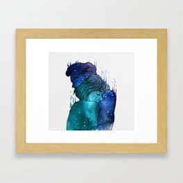 Growing Love. Framed Art Print