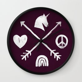 Sugar and Spice Compass Wall Clock