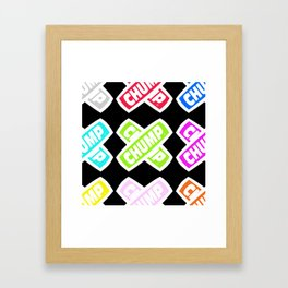 Chump Skate Framed Art Print