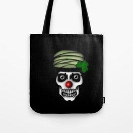 Irish Clown Skeleton Tote Bag