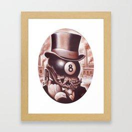 ocho loco  Framed Art Print