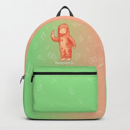Sasquatch - Cute Cryptid Backpack
