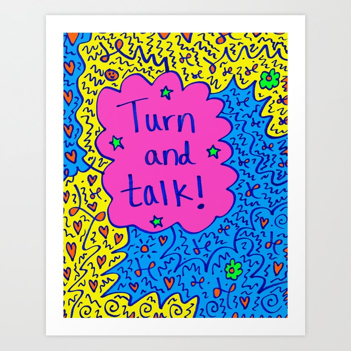 Image result for turn and talk