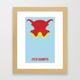 Dr. Strange - Eye of Agamotto Framed Art Print