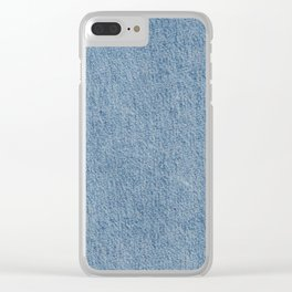 JEANS COLOR Clear iPhone Case