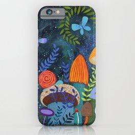 mushroom magic iPhone Case