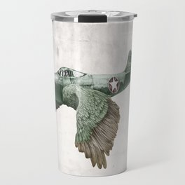 In which it's a bird. It's a plane. (Now in technicolour) Travel Mug