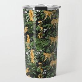 Cheetah in the wild jungle Travel Mug