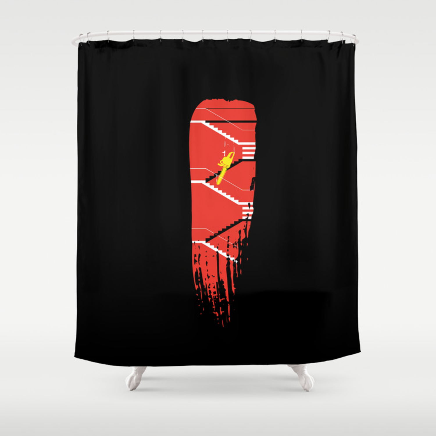 American Pyscho Shower Curtain