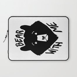 Bear With Me Laptop Sleeve