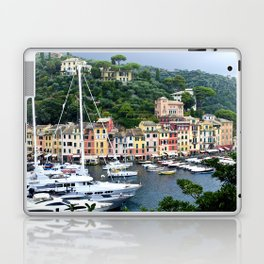 Portofino Harbour Italy Laptop & iPad Skin