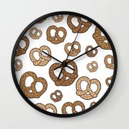 Pretzels Wall Clock